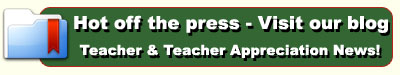 Teacher & Teacher Appreciation News